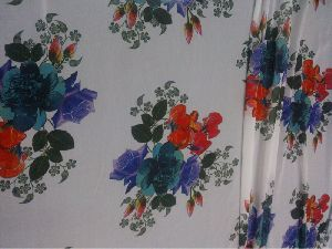 Digital Printed Polyester Saree