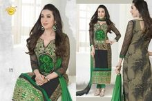 Designer Straight Cut Salwar Kameez