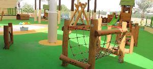 Natural Wood Play Equipment