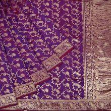 Hand Made Indian Embroidery Designer Saree