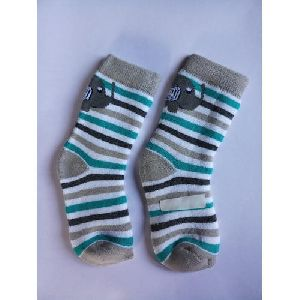 Cotton Striped Kids Socks