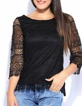 Girls Lace Blouse Tops