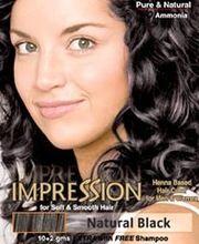 Impression Henna Based Hair Colour - Natural Black
