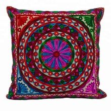 Hand Embroidered Decorative Sofa Cushion Covers