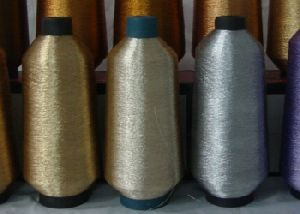 MS type embroidery metallic yarn