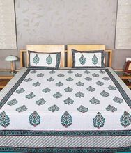 Cotton Handblock Bedsheet