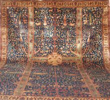 Vegetable Dyed Handknotted Woollen Carpets