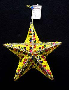 Handmade Star Christmas Tree Hanging Ornament