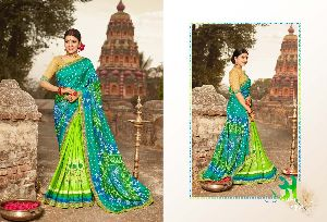 Bandhej Vol 9 Dola Silk With Embroidery Saree
