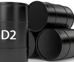 Russian D2 Diesel Oil