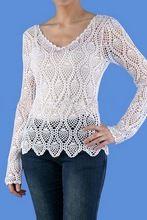 Hand Crochet Women Top