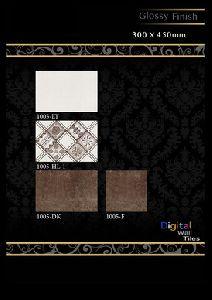 300 X 450mm Glossy  Series Digital Wall Tiles
