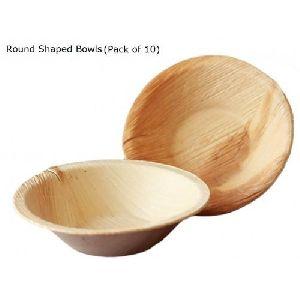 Areca Leaf Round Bowl