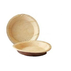 Areca Leaf Round Plate