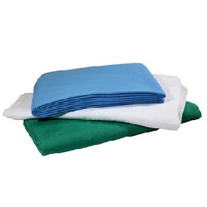 Disposable White Hospital Bed Sheets