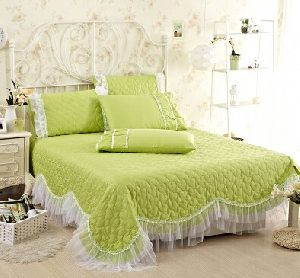 Cotton Embroidered Bed Covers