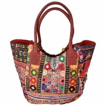 women embroidery banjara bag
