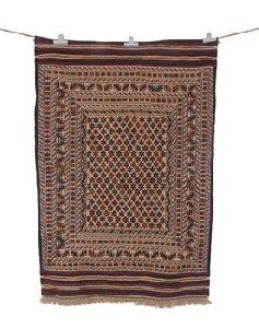 Traditional Indian Bergama Nomad Kelim Carpet Rug