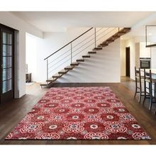 Wool Viscose Silk Carpet