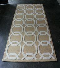 Hand Tufted Wool Silk Carpet