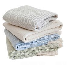 acrylic woven jacquard blanket throw