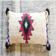 moroccan woolen cushion cover