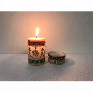Scented Hand Painted Decorative Candles