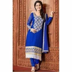 Ladies Designer Stitched Suit