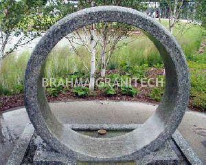 Granite Ring Fountain