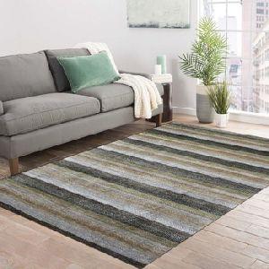 Handmade Wool Viscose Agra Grass Carpet And Rug