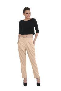 Ladies Cotton Linen Trouser