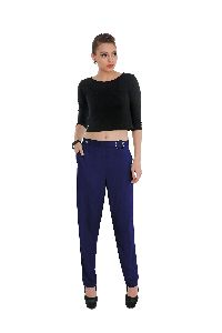 Ladies Rayon Ring Pants