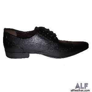 Mens Black Semi Formal Shoes
