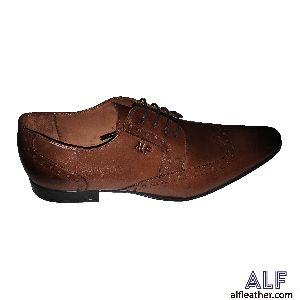 Mens Brown Semi Formal Shoes