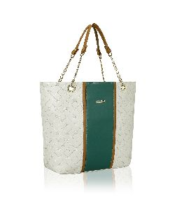 KLEIO Stylish Quilted Zip Ladies Tote Handbag
