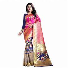 Heavy Designer New Collection Zari Work Banarasi Silk Saree