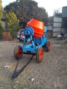 Non-Hopper Concrete Mixture Machine