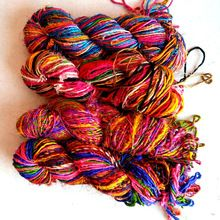 Recycled Sari Silk Chiffon