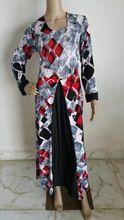 Designer Printed Abaya Kaftan