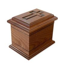 Wood Cremation Urn For Human Ashes