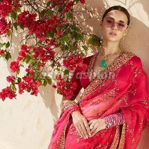 Ladies Fancy Cotton Saree