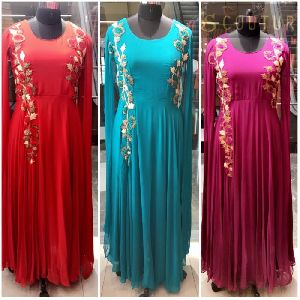 Princess Sleeve Gown
