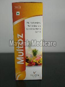 Multoz Multivitamins Syrup