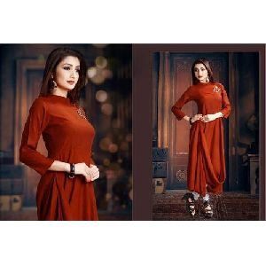 Ladies Indo Western Casual Wear Kurti