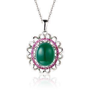 Antique Imitation Pendant Necklace