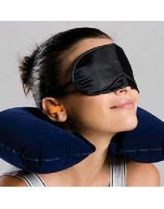 3-in-1 Travel Set Travel Kit Pillow/eye Mask/ear Plugs