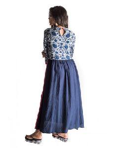 Cotton Rayon Indo Western Perfect Summer Wear Kurta