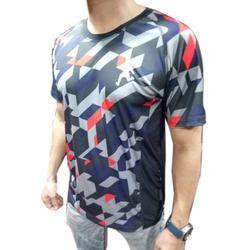Mens Printed Sports T-shirt