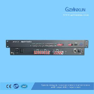 8-in & 4-out E1 Protection Switching(failover)equipment-zmux-124