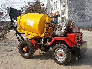 Nova 0.5 Self Loading Concrete Mixer